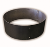 Steel Fire Pit Insert:  Forged form a heavy 7 gauge carbon steel and finish with a heat and weather resistant black finish.