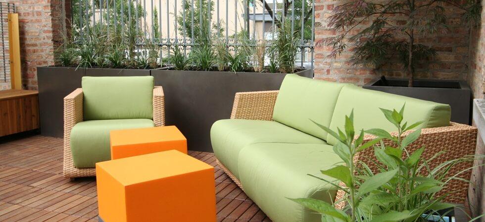 Indoor or Outdoor Contemporary Planters