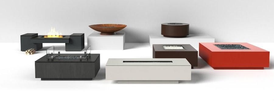 Custom Metal Fire Tables