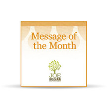 Getting Ahead: Money Matters (April 2015 Message of the Month)