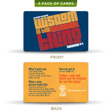 Wisdom - Prayer Cards (5 Pack)