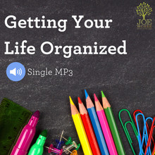 Getting Your Life Organized - Single MP3