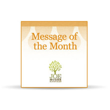 May 2016 Message of the Month