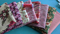 #35 Grab Bag (8) Fat Quarter pack w/BONUS thread