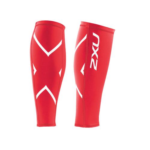 2XU PWX Compression Calf Guard - Red