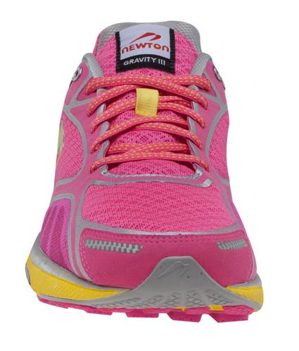 Newton Women's Gravity III - Neutral Trainer - Pink / Yellow