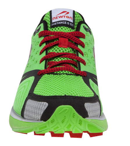 Newton Men's Distance S III - Stability Light Weight Performance Trainer - Lime / Red