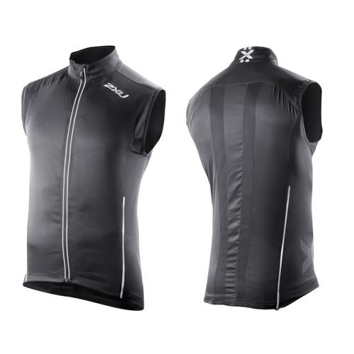 2XU Vapor Mesh 360 Run Vest - Men's - Black