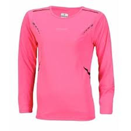 RonHill Women's Vizion Long Sleeve Crew Tee Shirt