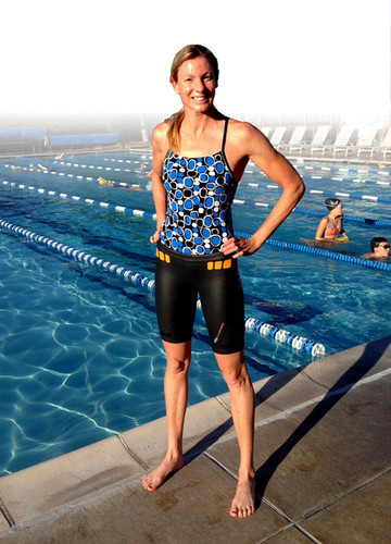 core Buoyancy Shorts by the Pool