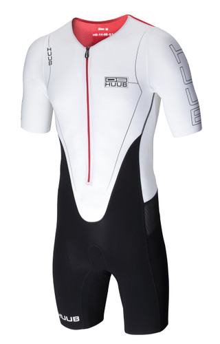HUUB - Dave Scott Long Course Suit - White
