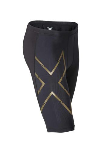 2XU - Elite MCS Compression Short - Men's - Black/ Gold