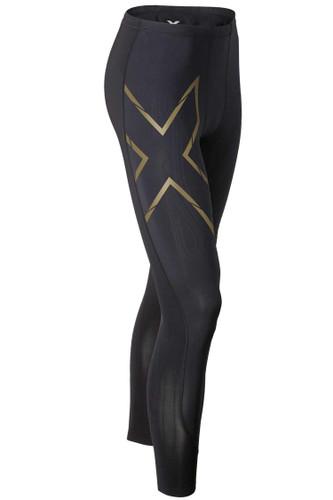 2XU - Elite MCS Compression Tights - Men's - Black/ Gold