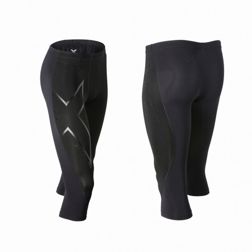 2XU - Elite Merino Thermal Compression 3/4 Tights - Men's - Black/ Nero