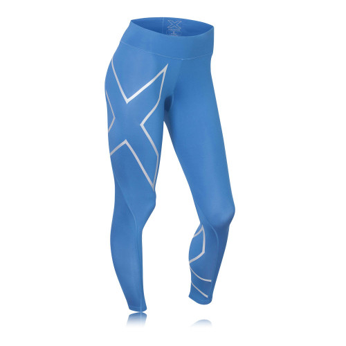 2XU - Mid Rise Compression Tights - Women's - Coloured
