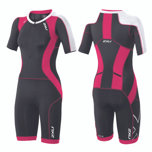 2XU - Women's Compression Sleeved Trisuit