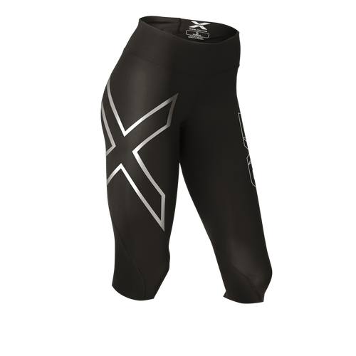 2XU - Hyoptik Mid-Rise Thermal 3/4 Compression Tights - Women's