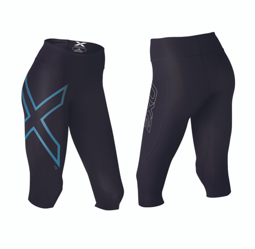 2XU Mid-Rise Comp 3/4 Tights