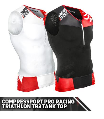 Compressport - Pro Racing Triathlon TR3 Tank Top