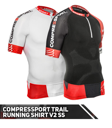 Compressport - Trail Running Shirt V2 SS