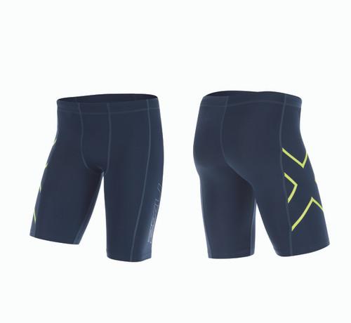 2XU TR2 Compression Shorts - Men's - Black/White