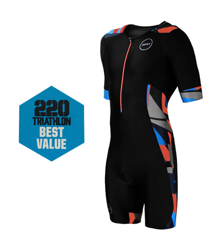 Zone3 - Men's Activate Plus Short-Sleeve Trisuit - 2017