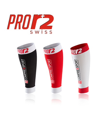 Compressport - Pro R2 Swiss Calf Guard
