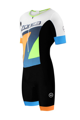 Zone3 - Limited Edition Lava Long Distance Aero Short Sleeved Trisuit