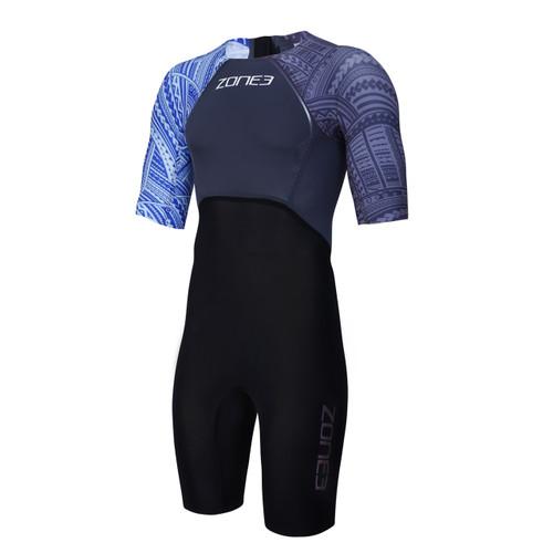 Zone3 - WTC Legal Short Sleeve Swim Skin - Kona Edition - Men's