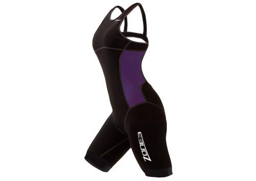 Zone 3 Womens Aeroforce Nano Trisuit - Black / Lilac