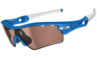 Oakley Sports Performance Sunglasses - Radar Path with a Sky Blue Frame and a VR50 Photochromic Vented Lens - 09-751