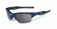 Oakley Sports Performance Half Jacket 2.0 XL Sunglasses - Polished Navy Frame - Black Iridium Lens  OO9154-24