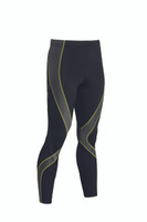 CW-X Mens Pro Tights New 2015 Colours Black Grey Yellow