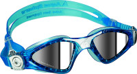 Aqua Sphere - Kayenne Goggle Small - Aqua/ White - Mirror