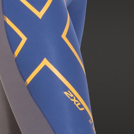 Steel / Blue - X logo