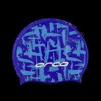 Orca - Printed Silicone Swim Cap
