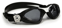 Aqua Sphere - Kayenne Goggle Small - Black/White - Dark