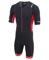 HUUB - Core Sleeved Long Course Trisuit - Men's Black/Red