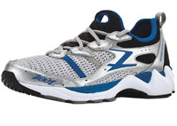 Zoot Mens' Advantage 3.0 Stability Shoe Silver Blue - 7.0, 7.5 & 8.0