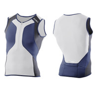 2XU Men's Compression Tri Singlet - L & XL