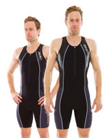 Zone 3 Men's Aeroforce Nano Trisuit - Black / Grey