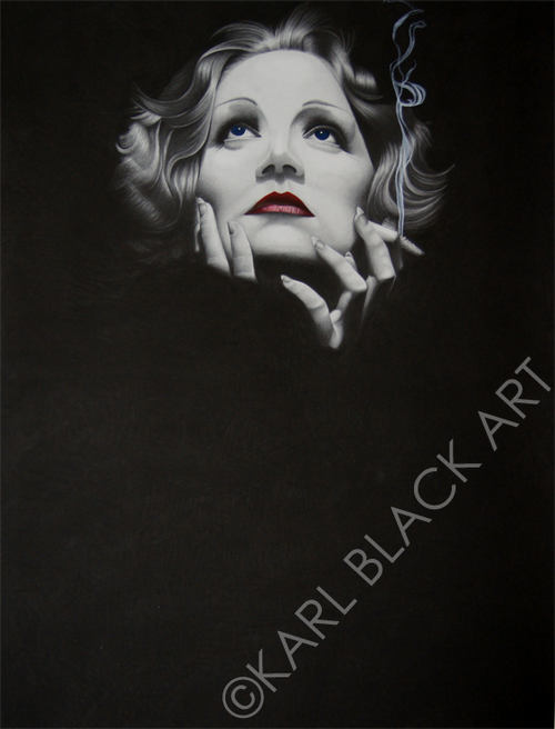 Marlene Dietrich art and classic hollywood prints