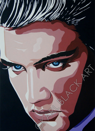 Elvis Presley original painting and art