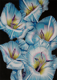 Tropical floral art and original prints