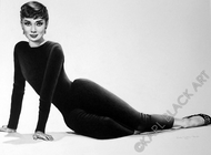 Audrey Hepburn black and white original art and classic hollywood prints