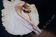 Ballerina art and print