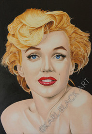 Marilyn Monroe art and custom prints, oil painting