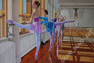 Chasing the Dream | Original Ballerina Art