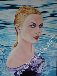 Forever Young Grace Kelly Art