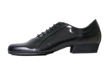 Online Tango Shoes - 2x4 al pie Abasto - Negro (fully leather)